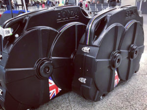 Hire a bonza bike box from us when travelling abroad